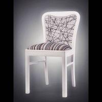 meble, designerskie, Łódź, onoMono, krzesło Linear, białe